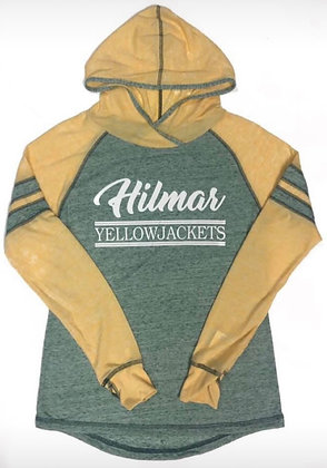 Hilmar Yellowjackets Women's Long Sleeve Thin Hoodie - HY213