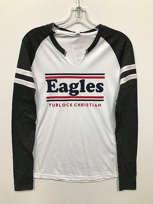 Turlock Christian Eagles Women's Long Sleeve - TC030