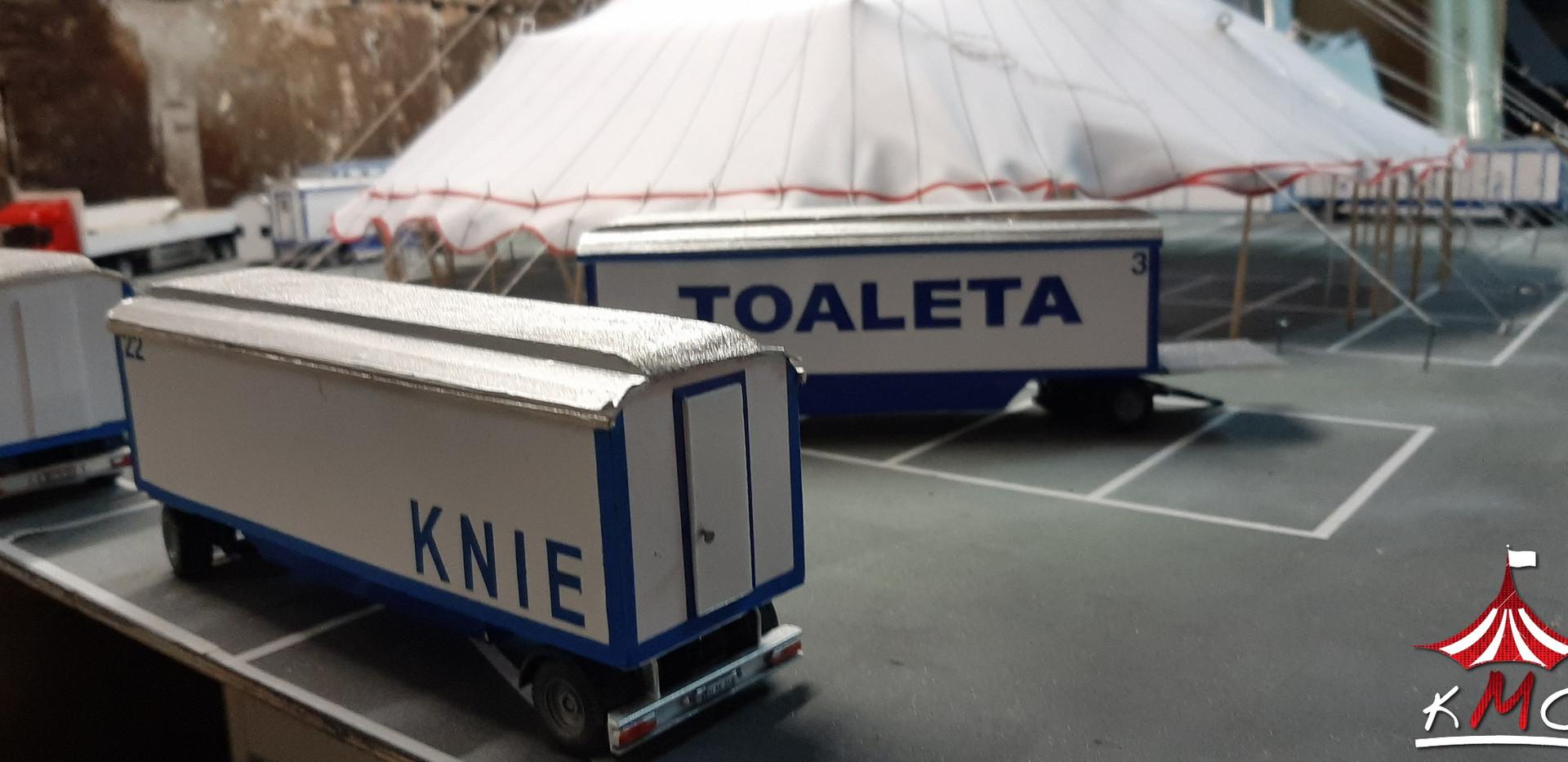 Makieta Circus Knie