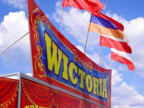Cyrk Wictoria na biletynie