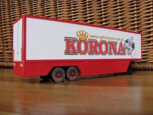 Naczepa Cyrku Korona