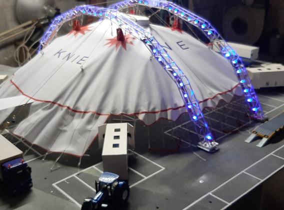 Makieta Circus Knie - część 2