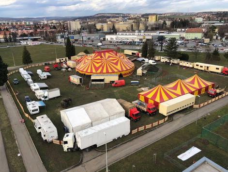 Cirkus Humberto wciąż nie może występować i przypomina przygotowania do premiery 2020