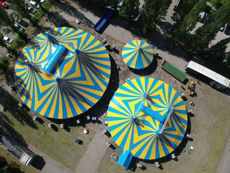 Circus Jonny Casselly wystawi spektakl online. Wystąpi Klaun Tonito
