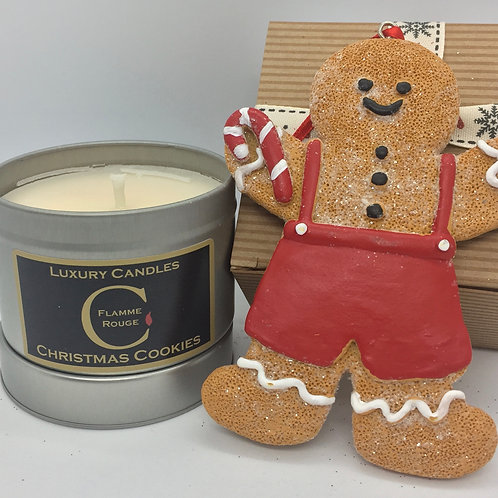Christmas Cookies 90g Travel Candle