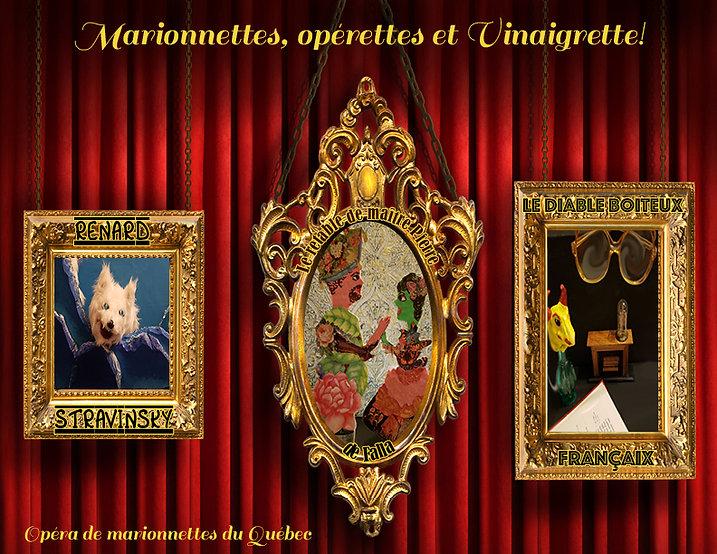 Marionnettes, opérettes et Vinaigrette!
