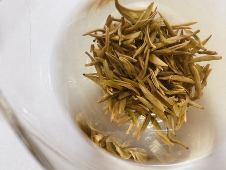 希少な黄茶 「蒙頂黄芽」