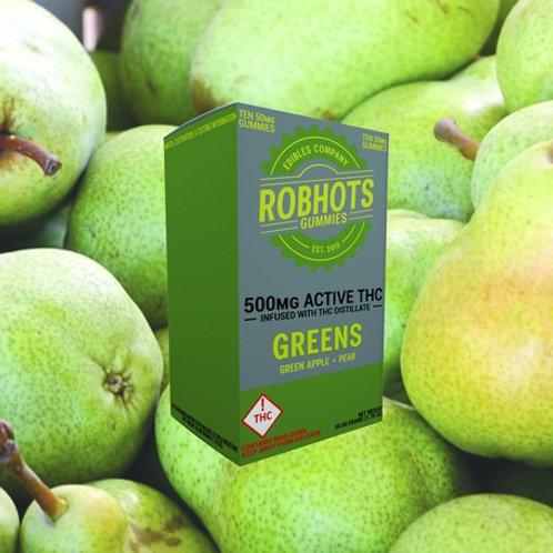 Robhots - Greens 500mg Gummies