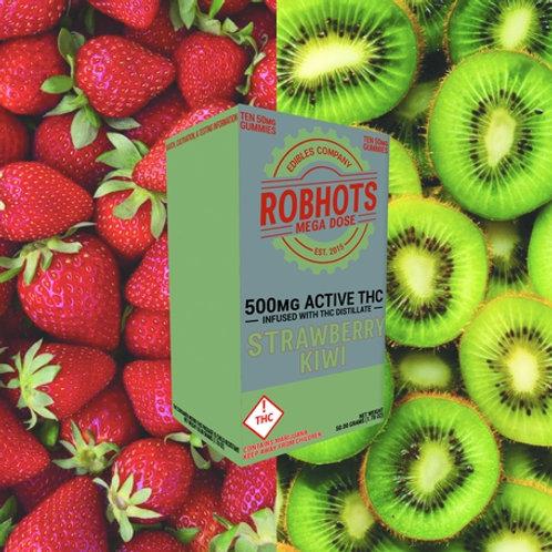 Robhots - Strawberry Kiwi 500mg Gummies