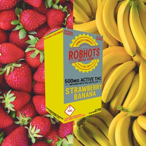 Robhots - Strawberry Banana 500mg Gummies