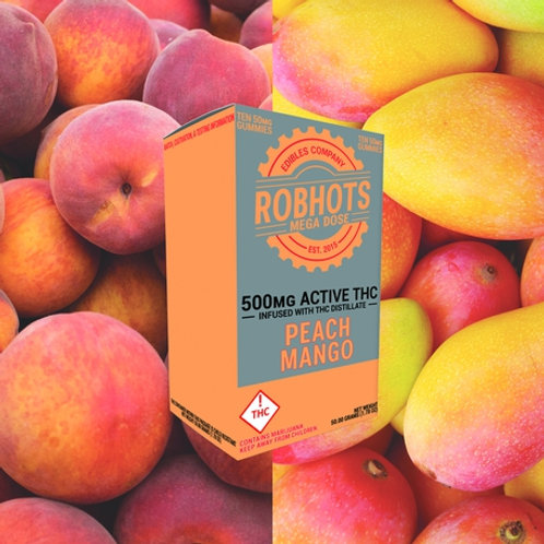 Robhots - Peach Mango 500mg Gummies