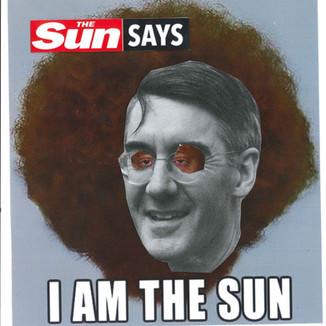 The sun says..
