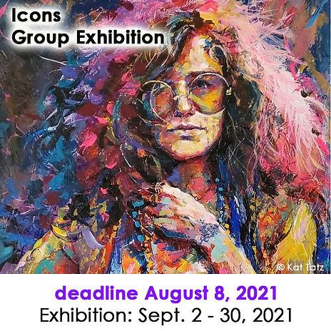 2021 Icons Group Exhibition at Las Lagun