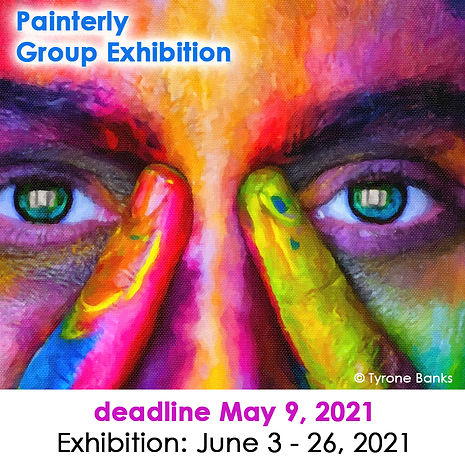 2021 Painterly Group Exhibition 900 x 90