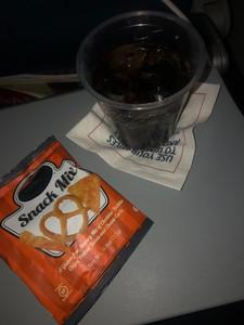 Dinner of champions on my ATL-JFK flight