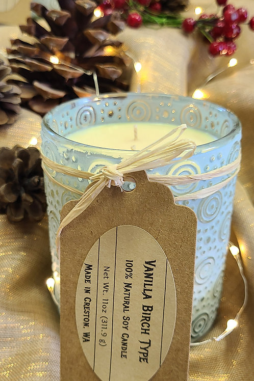 Frosted Glass Candles
