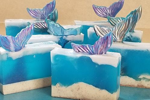 Mermaid Tail Bar Soap