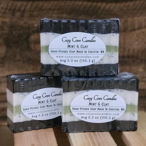 Mint & Clay Soap Bar