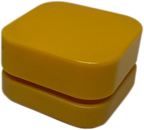 Cube Jar (Yellow)