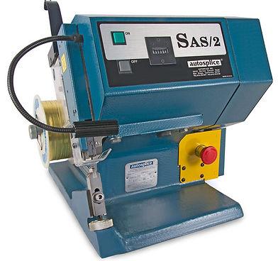 SAS/2 wire crimping splicing splice machine