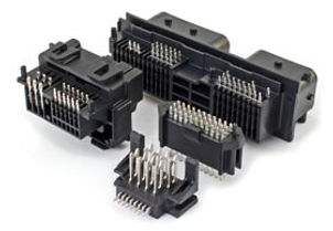 custom electro-mechanical interconnect devices, custom stamped contacts, FR-4 headers and lead-frames