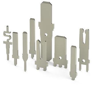 4.75 mm WIDTH SOLDER TAILBLADE TERMINALS