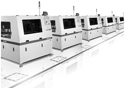 high speed pin insertion machine production line, PCB assembly automation