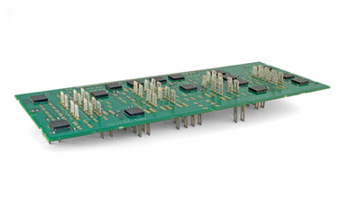 Power Board Assembly with BGA's and leadless chip carriers