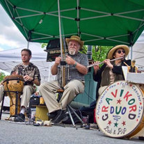 Gravikord Duo at the Market