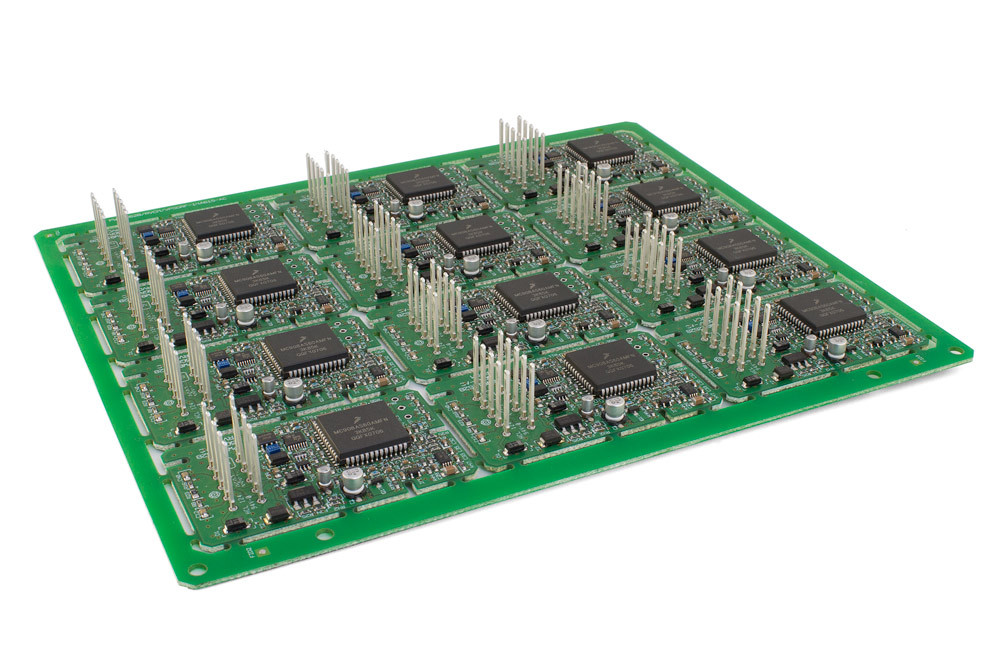 Printed Circuit Board assemblies (PCBA) with Autosplice press-fit terminals