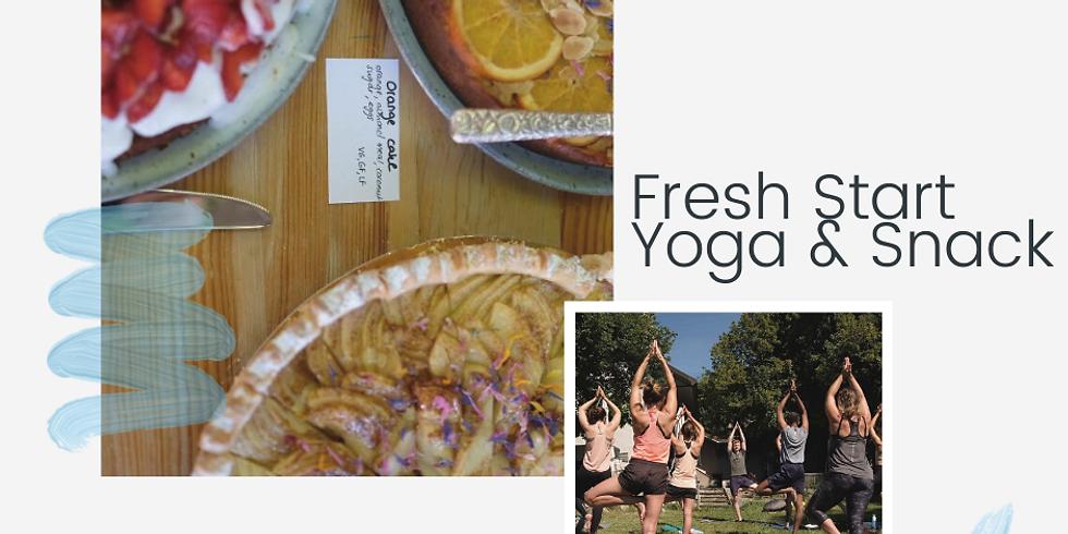Fresh Start - Yoga & Snack