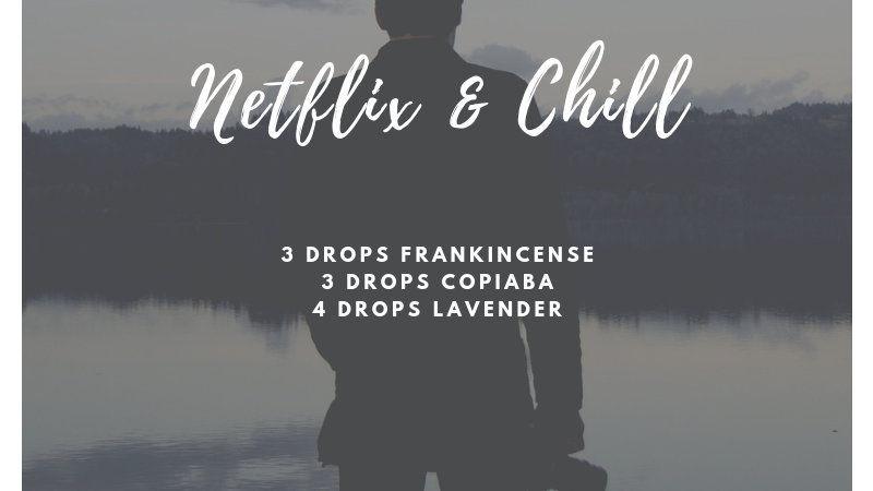 5 mL bottle of Netflix & Chill diffuser blend