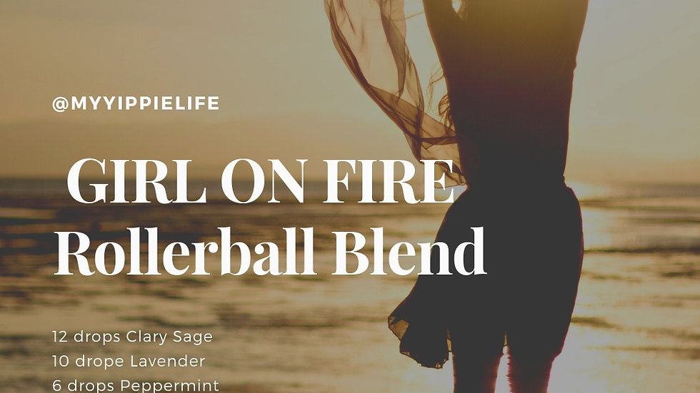 Girl on Fire Rollerball