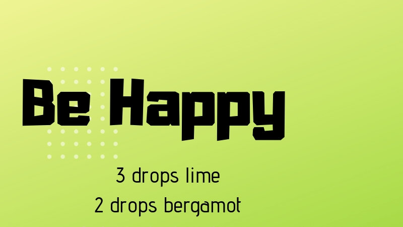 Be Happy 5 mL diffuser blend