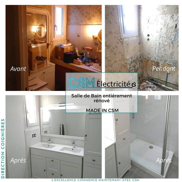 Rénovation de salle de bain - Coignières