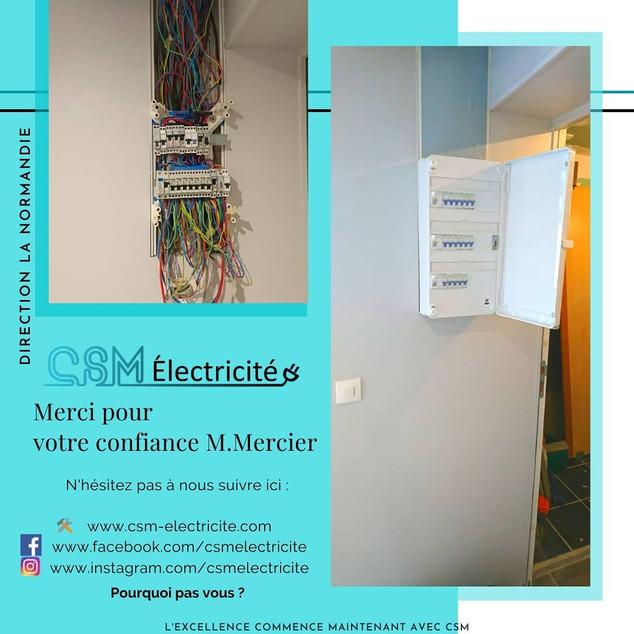 Tableau éléctrique - Normandie
