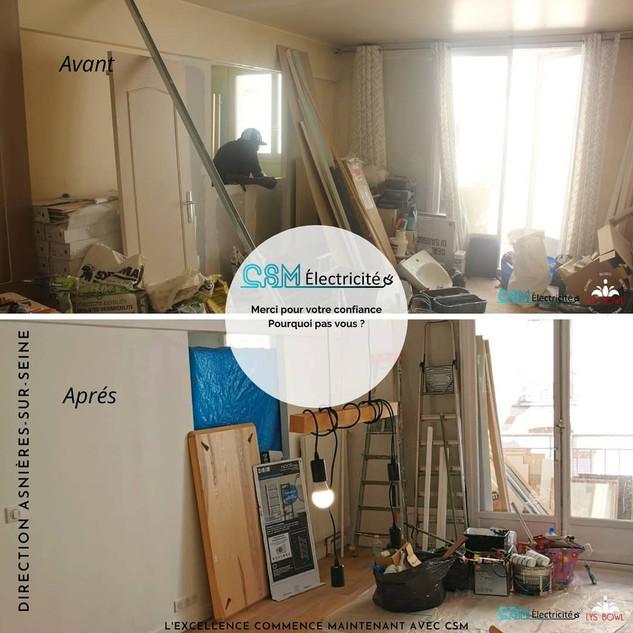 Rénovation Appartement - Asnières