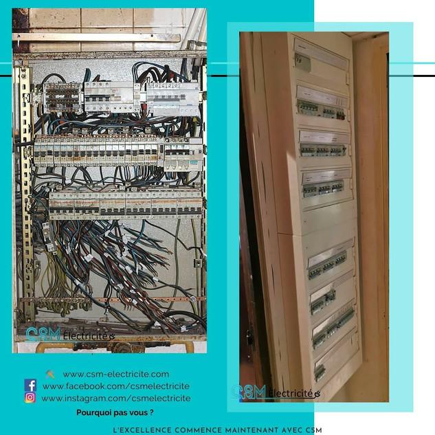 Armoire éléctrique - Chatillon