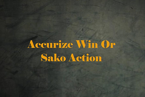 Accurize Winchestor or Sako Action
