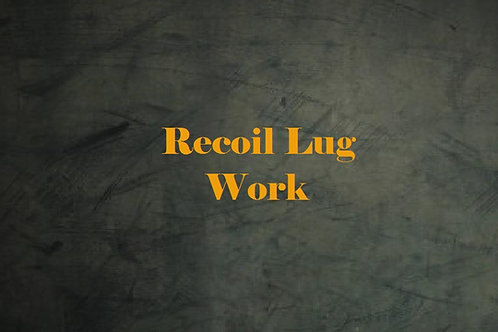 Recoil Lug Work