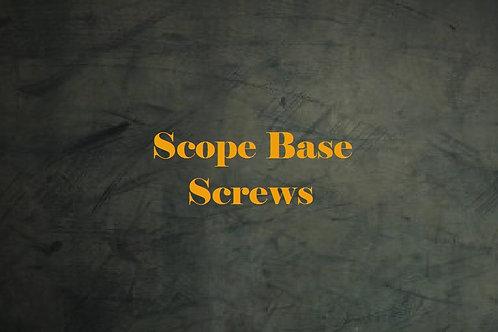 Scope Base screws