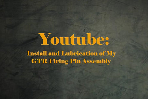 Youtube: Install & Lubrication of my GTR F/P Assembly