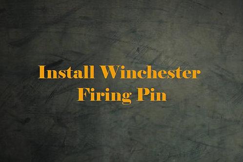 Install Winchester Firing Pin