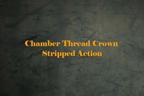 Chamber, Thread, Crown & Engraved - Stripped Action