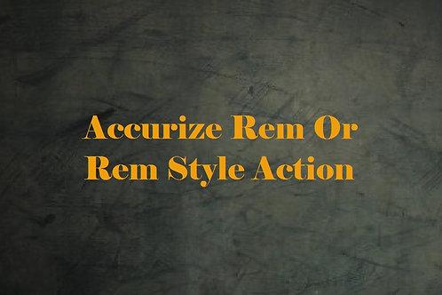 Accurize Remington & Remington Style Action