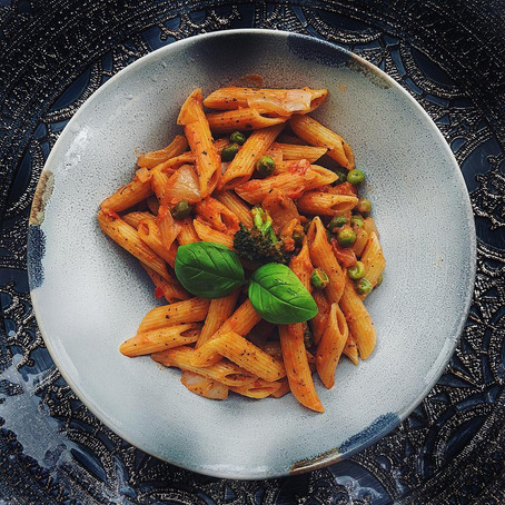 Cremige Tomatenpasta mit Red Honey
