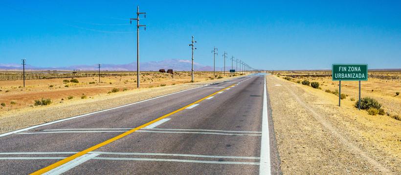 Rencontre en plein désert Argentin