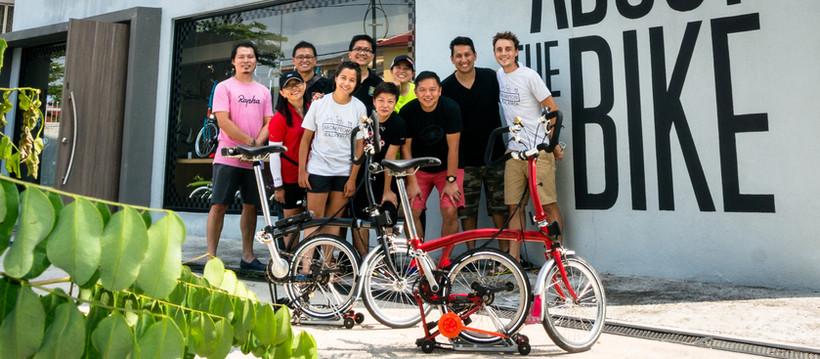 Malaisie et Singapour : la grande famille Brompton ! (ou comment nous étions des superstars)