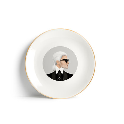 KARL FASHION PLATE by WHO ICONS