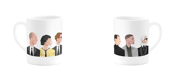 SET OF 2 MUGS by WHO ICONS